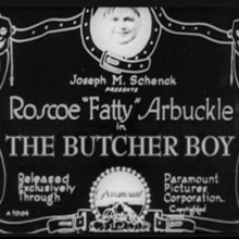 The Butcher Boy ~ April 23, 1917